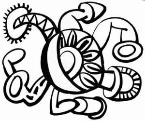 Glyph image for the laser cutter.